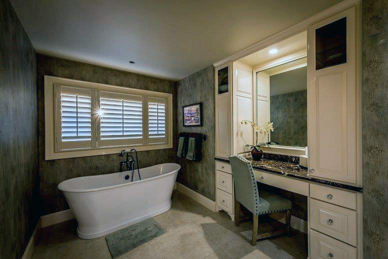 Remodeled master bath by Janacek
