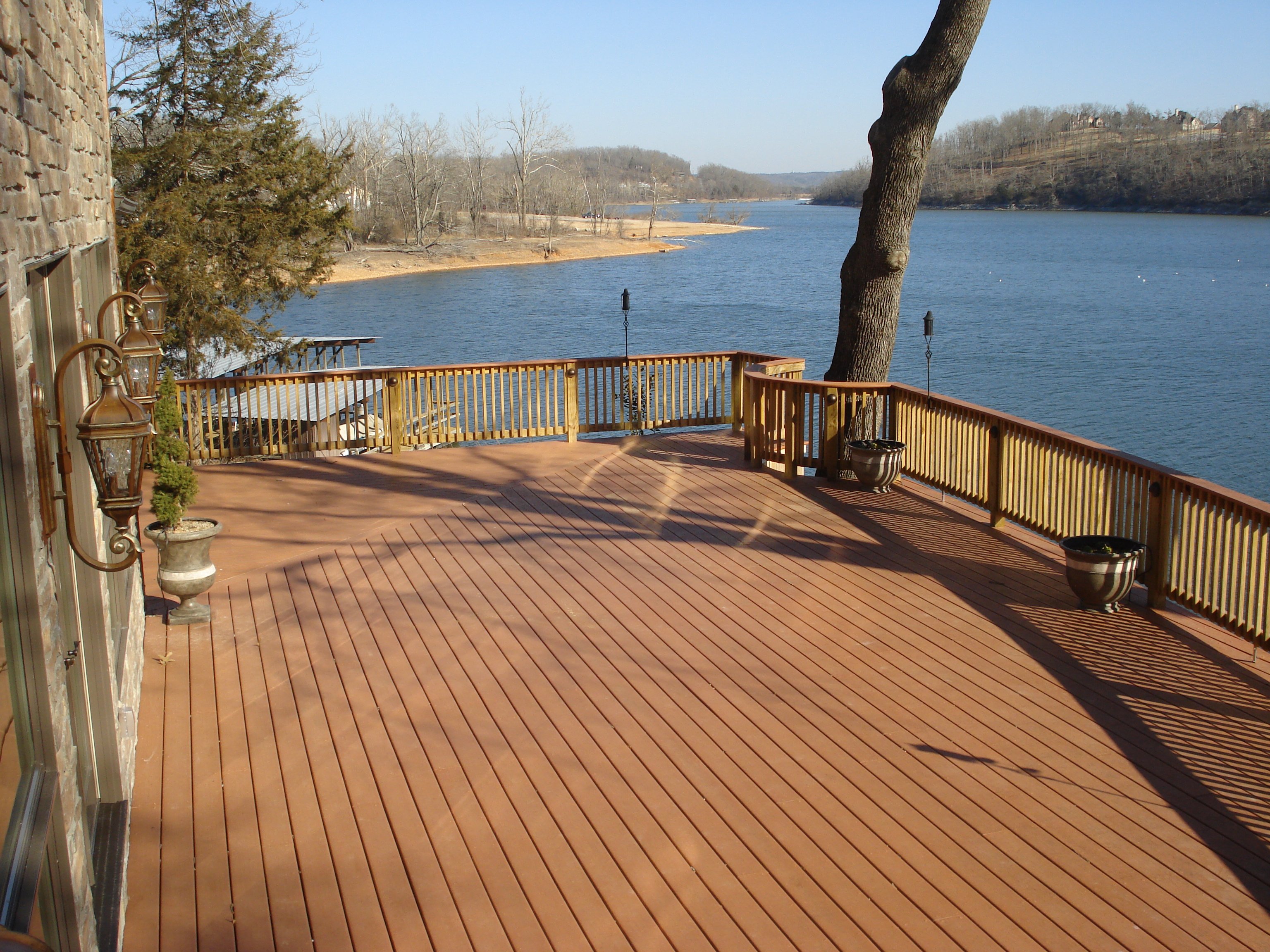 Composite Decks Built by Janacek Construction