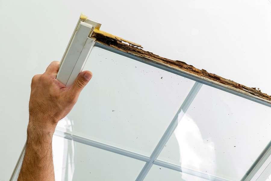 Window Damaged Due To Poor Installation