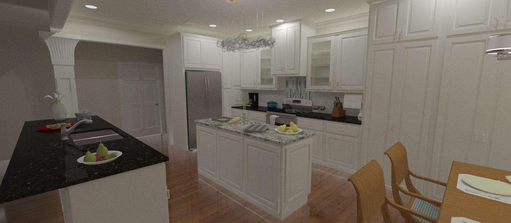 Interior bath renovation